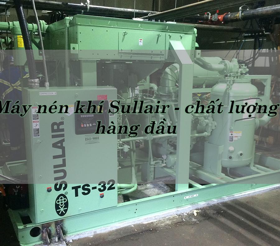 máy nén khí Sullair tại Cát Phong