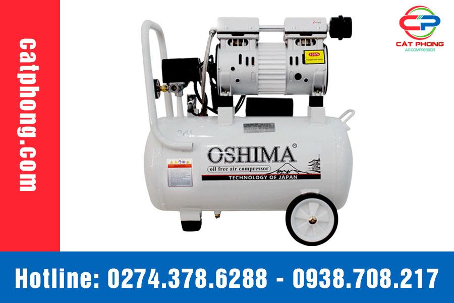 máy nén khí oshima 24L