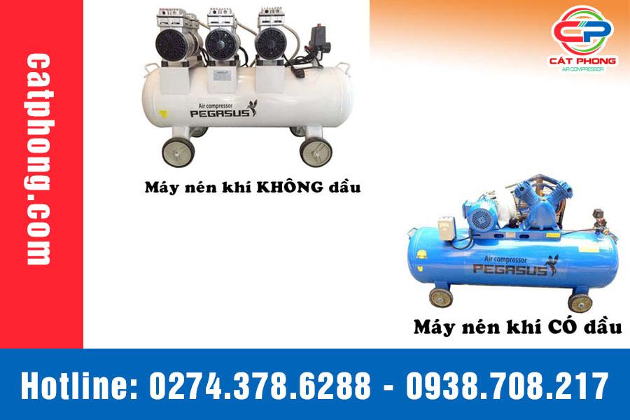 phân biệt máy nén khí piston
